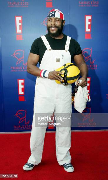 Actor Mr T arrives at the 5th Annual Taurus World Stunt Awards on September 25 2005 in Los Angeles California