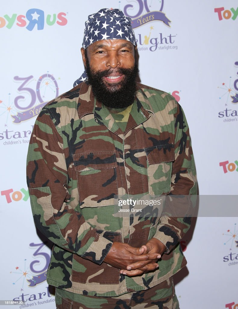 Actor Mr T attends The Starlight Children's Foundation's 30th Anniversary Gala at the Skirball Cultural Center on September 25, 2013 in Los Angeles, California.