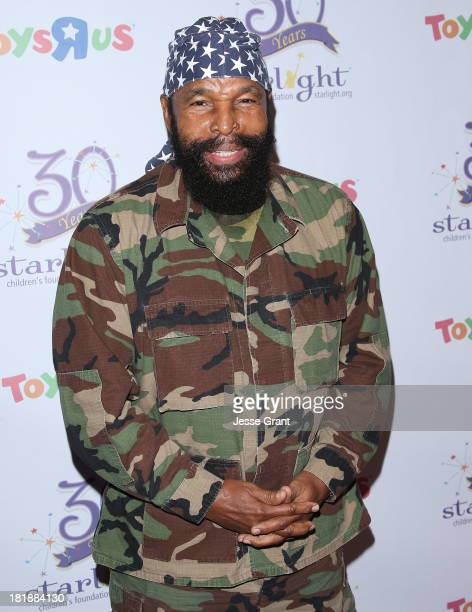 Actor Mr T attends The Starlight Children's Foundation's 30th Anniversary Gala at the Skirball Cultural Center on September 25 2013 in Los Angeles...