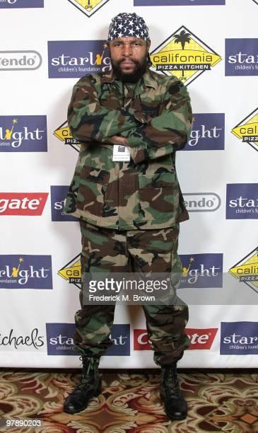 Actor Mr T attends the Starlight Children's Foundation's annual 2010 A Stellar Night gala at the Hyatt Regency Century Plaza Hotel on March 19 2010...