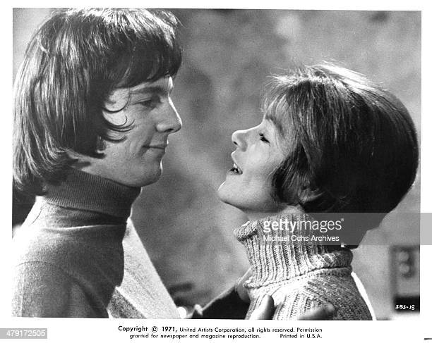 Actor Murray Head and actress Glenda Jackson in a scene from the United Artist movie Sunday Bloody Sunday circa 1971