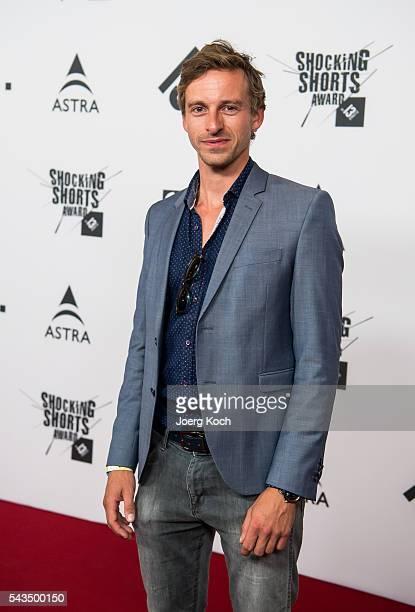Actor musician and producer Benedikt Blaskovic attends the Shocking Shorts Award 2016 Munich Film Festival on June 28 2016 in Munich Germany