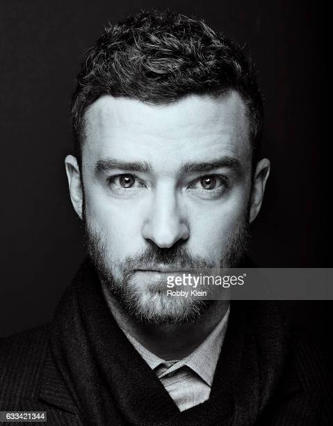 Actor musician and producer Justin Timberlake is photographed for The Wrap on December 3 2016 in New York City