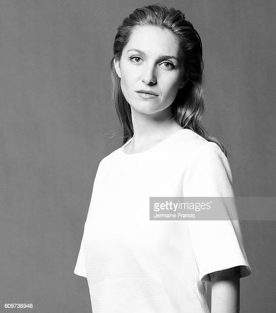 Actor musician and singer Josephine de la Baume is photographed for the Independent on December 11 2012 in London England