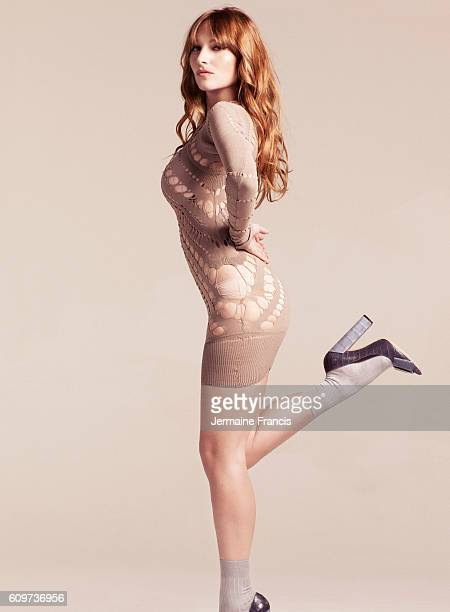 Actor musician and singer Josephine de la Baume is photographed for the Sunday Times on June 23 2010 in London England