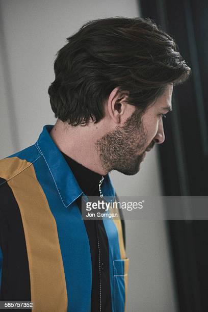 Actor musician and singersongwriter Michiel Huisman is photographed for Esquire on February 20 2016 in London England