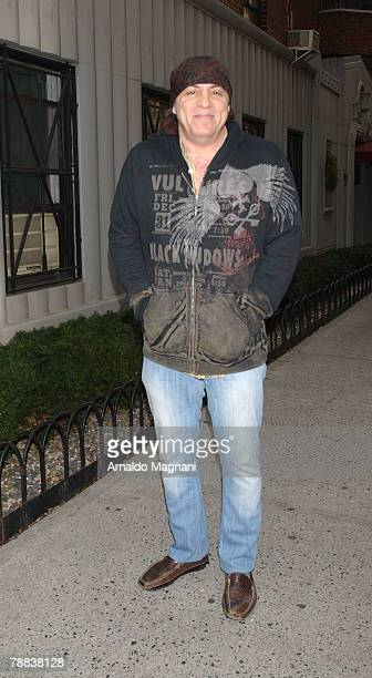 Actor musician Steven Van Zandt walks in the village January 8 2008 in New York City