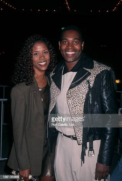 Actor Mykelti Williamson and wife Sondra Spriggs attending the Los Angeles premiere of 'That Thing You Be' on September 30 1996 at the Cineplex Odeon...