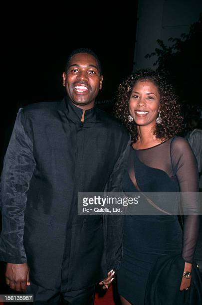 Actor Mykelti Williamson and wife Sondra Spriggs attending the world premiere of 'Heat' on December 6 1995 at Warner Bros Studios in Burbank...