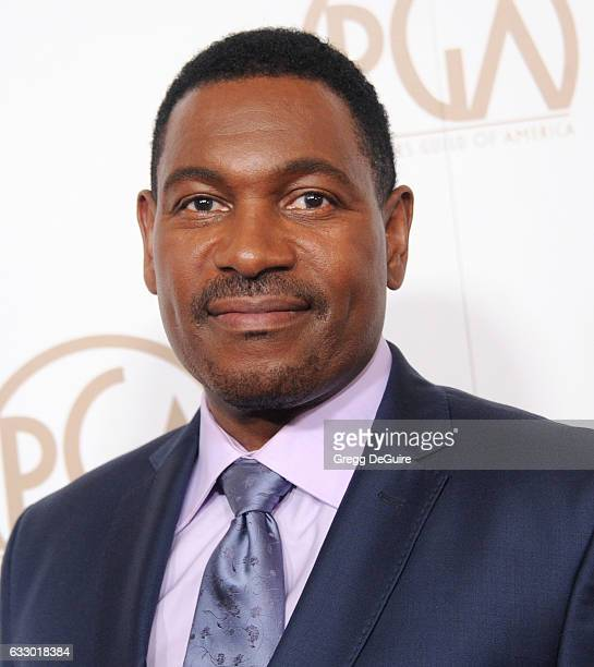 Actor Mykelti Williamson arrives at the 28th Annual Producers Guild Awards at The Beverly Hilton Hotel on January 28, 2017 in Beverly Hills,...