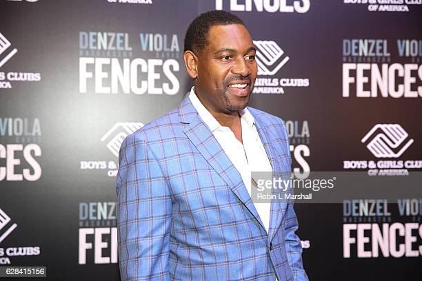 "Actor Mykelti Williamson attends ""Fences"" Atlanta Screening at Regal Atlantic Station on December 7, 2016 in Atlanta, Georgia."