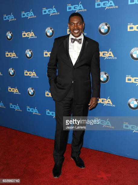 Actor Mykelti Williamson attends the 69th annual Directors Guild of America Awards at The Beverly Hilton Hotel on February 4, 2017 in Beverly Hills,...