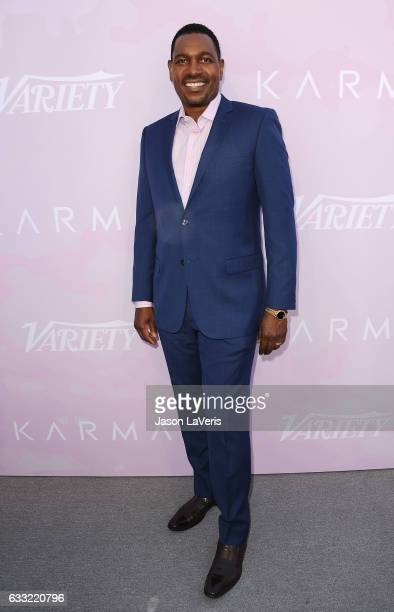 Actor Mykelti Williamson attends Variety's celebratory brunch event for awards nominees benefitting Motion Picture Television Fund at Cecconi's on...