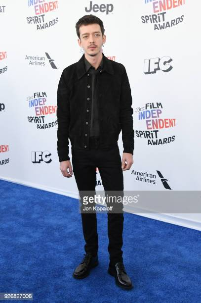 Actor Nahuel Perez Biscayart attends the 2018 Film Independent Spirit Awards on March 3 2018 in Santa Monica California