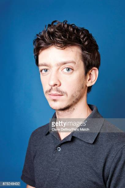 Actor Nahuel Perez Biscayart is photographed for Paris Match on October 17 2017 in Paris France