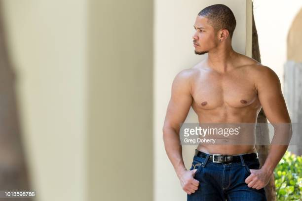 Actor Najee DeTeige attends the TAP The Artists Project Giveback Day on August 8 2018 in Los Angeles California