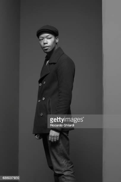 Actor Nakhane Toure is photographed for Self Assignment on February 9 2017 in Berlin Germany