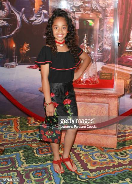 Actor Nancy Fifita attends Red Walk special screening of Disney's Beauty And The Beast at El Capitan Theatre on March 23 2017 in Los Angeles...