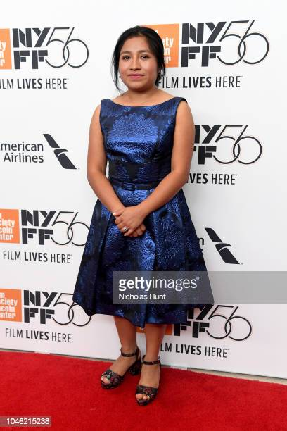 Actor Nancy Garcia attends the premiere of ROMA during the 56th New York Film Festival at Alice Tully Hall on October 5 2018 in New York City