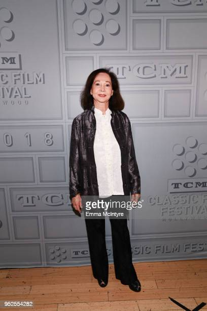 Actor Nancy Kwan attends the screening of 'The World of Suzie Wong' during day 3 of the 2018 TCM Classic Film Festival on April 28 2018 in Hollywood...