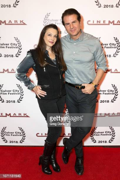 Actor Nancy O'Brien and Vincent de Paul attends a screening of Acts Of Desperation At Culver City Film Festival Starring Paul Sorvino Kira Reed...