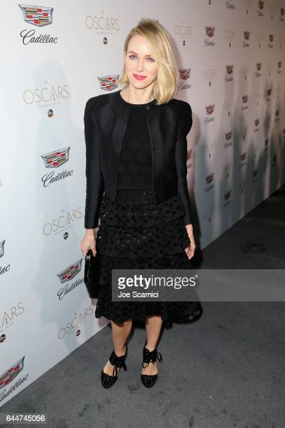 Actor Naomi Watts attends the Cadillac Oscar Week Celebration at Chateau Marmont on February 23 2017 in Los Angeles California