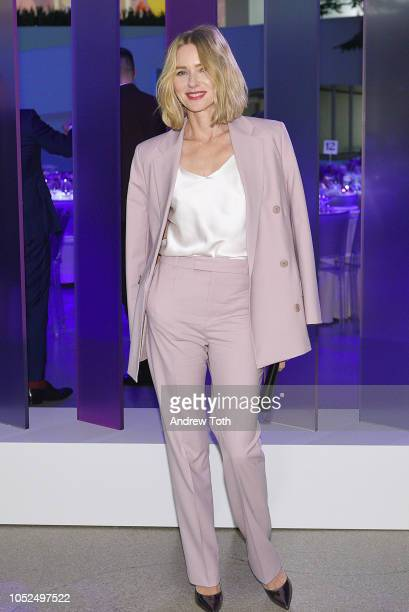 Actor Naomi Watts attends the Hugo Boss Prize 2018 Artists Dinner at the Guggenheim Museum on October 18 2018 in New York City