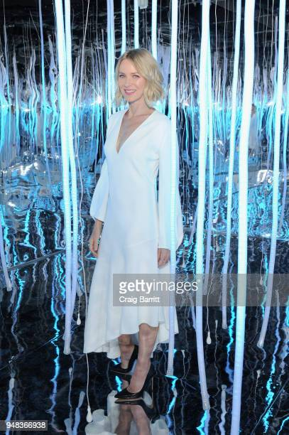 Actor Naomi Watts attends the Moroccanoil Launch of Color Complete on April 18 2018 in New York City