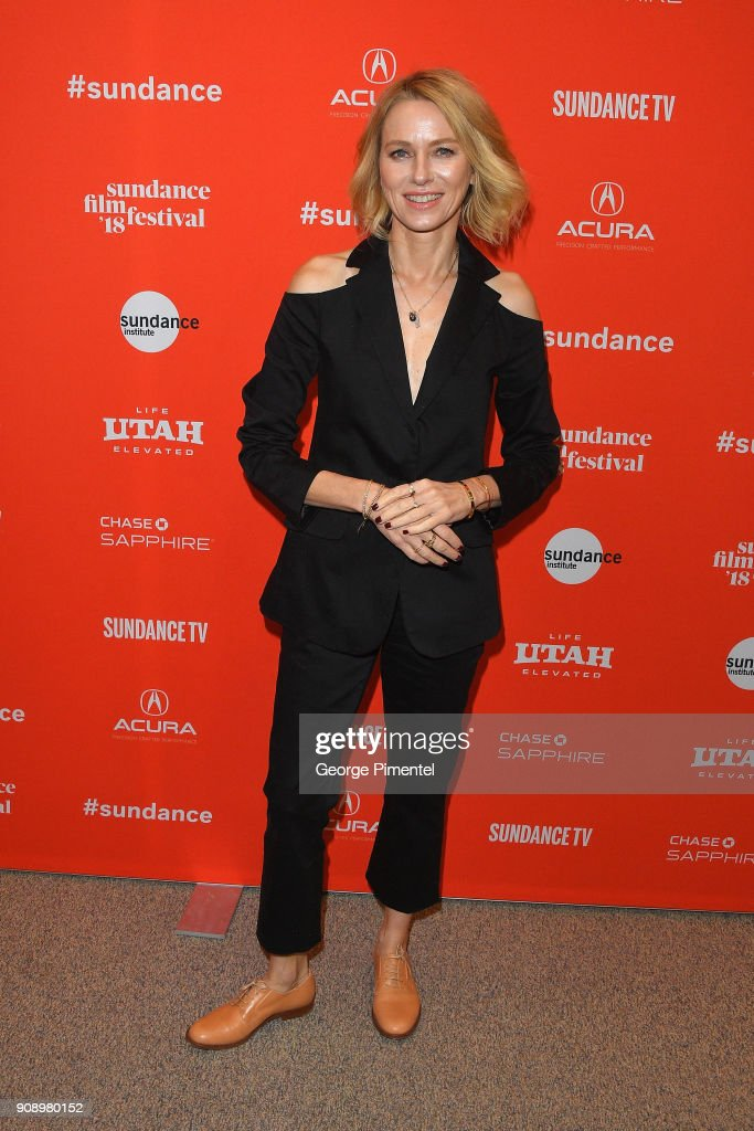 Actor Naomi Watts attends the 'Ophelia' Premiere during 2018 Sundance Film Festival at Eccles Center Theatre on January 22, 2018 in Park City, Utah.