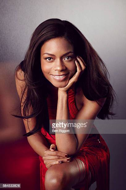 Actor Naomie Harris is photographed for Cosmopolitan UK on August 17 2015 in London England