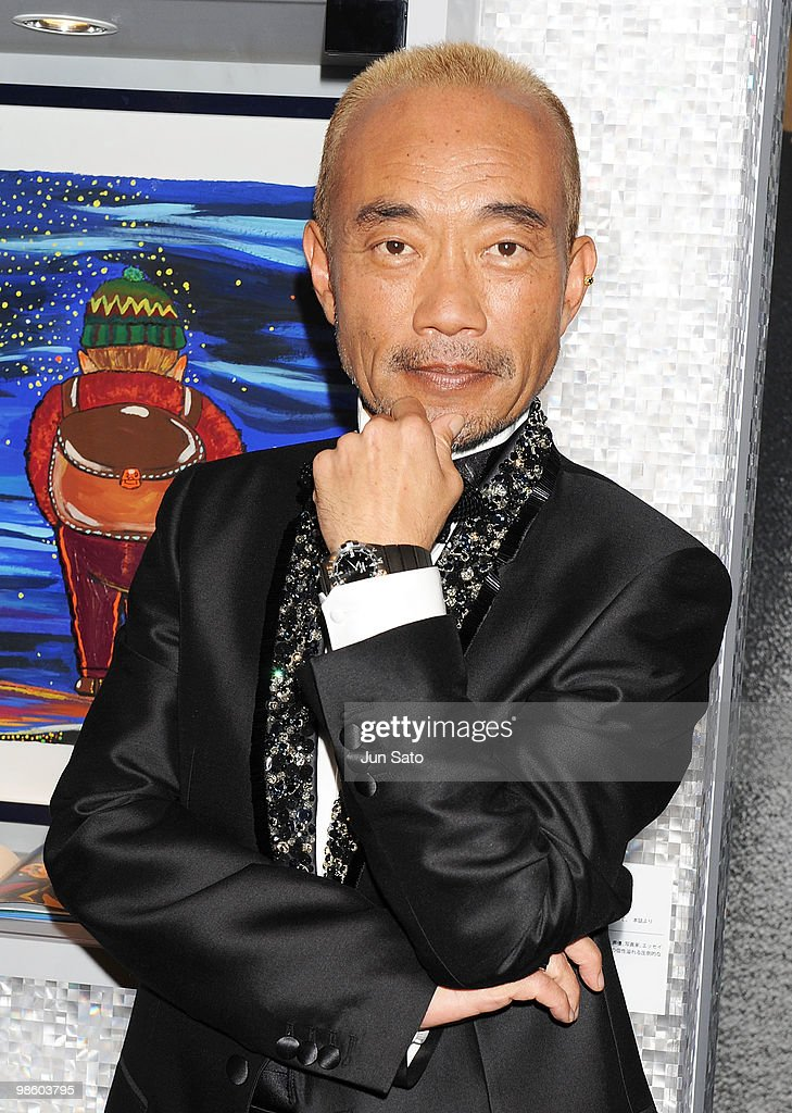 Actor Naoto Takenaka attends a press conference for the Omega Constellation Art Exhibition at Nicolas G. Hayek Center on April 22, 2010 in Tokyo, Japan.