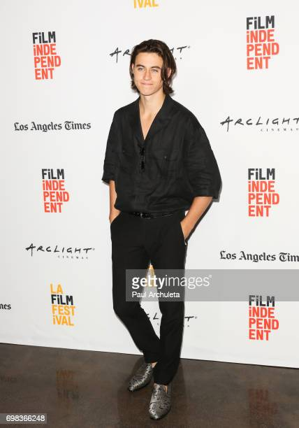 Actor Nash Grier attends the premiere of Netflix's 'You Get Me' at the 2017 Los Angeles Film Festival at the ArcLight Santa Monica on June 19 2017 in...
