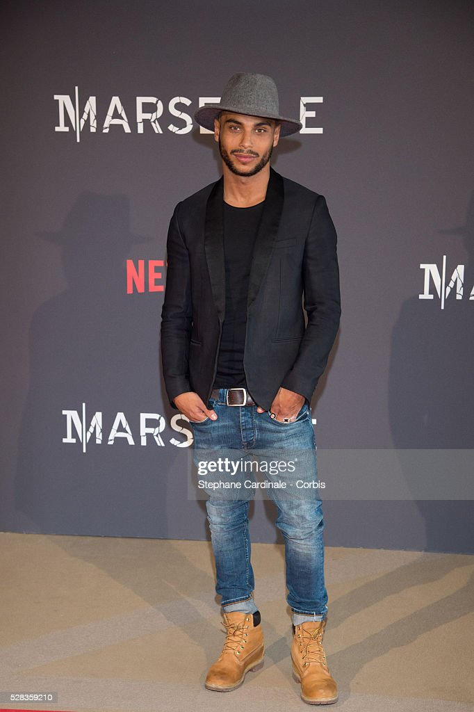 Actor Nassim Sim Ahmed attends the 'Marseille' Netflix TV Serie World Premiere At Palais Du Pharo In Marseille, on May 4, 2016 in Marseille, France.