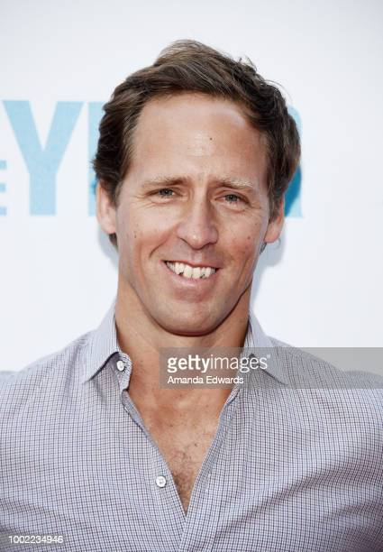 Actor Nat Faxon arrives at a special screening of Netflix's 'Father Of The Year' at ArcLight Hollywood on July 19 2018 in Hollywood California