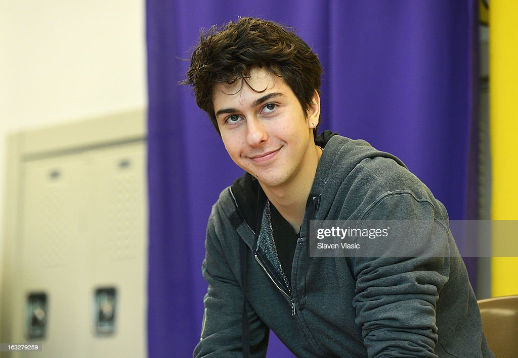 Actor Nat Wolff attends a sneak peek preview screening of 'Admission' at Vilidus Prep on March 6, 2013 in the Bronx borough of New York City.