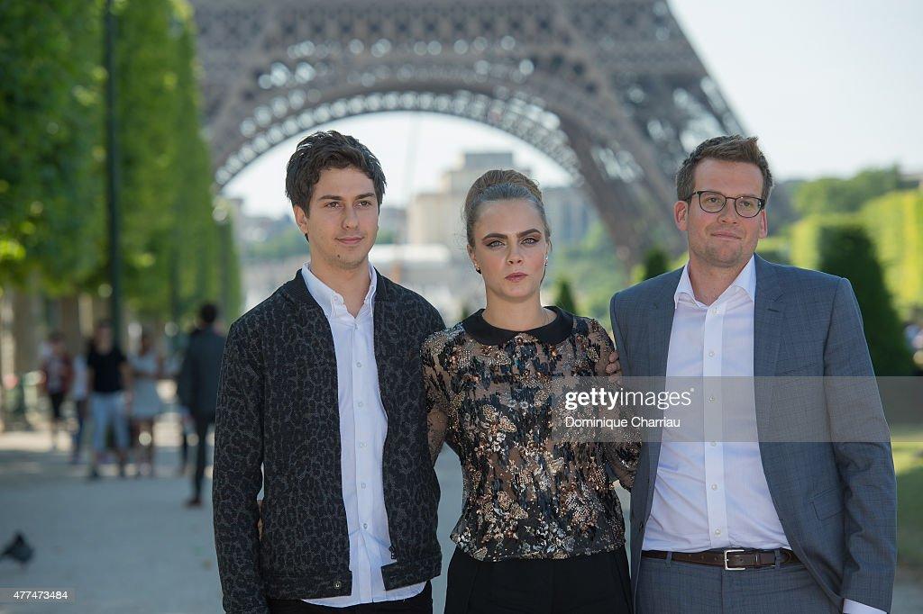 'Paper Towns' - La Face Cachee De Margo : Photocall In Paris : News Photo