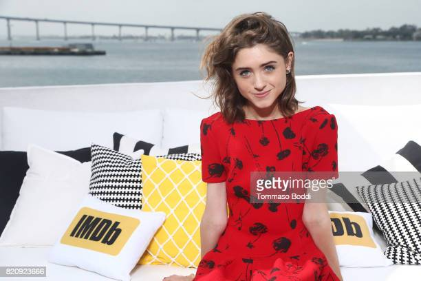 Actor Natalia Dyer on the #IMDboat at San Diego ComicCon 2017 at The IMDb Yacht on July 22 2017 in San Diego California