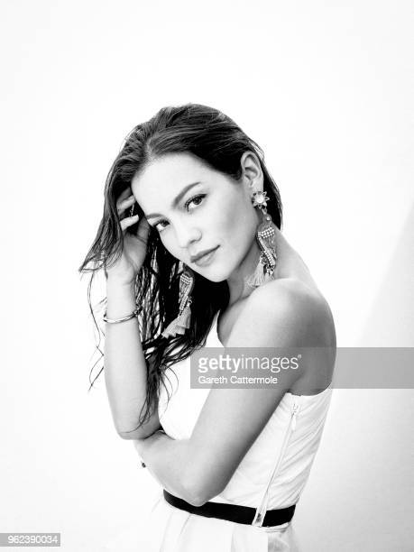 Actor Natalia Reyes is photographed on May 9 2018 in Cannes France