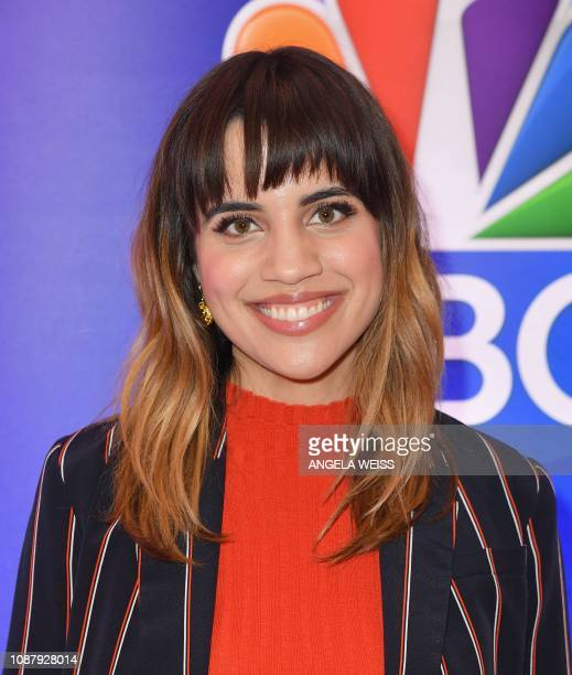 Actor Natalie Morales attends the NBC midseason press junket at The Four Seasons in New York on January 24 2019
