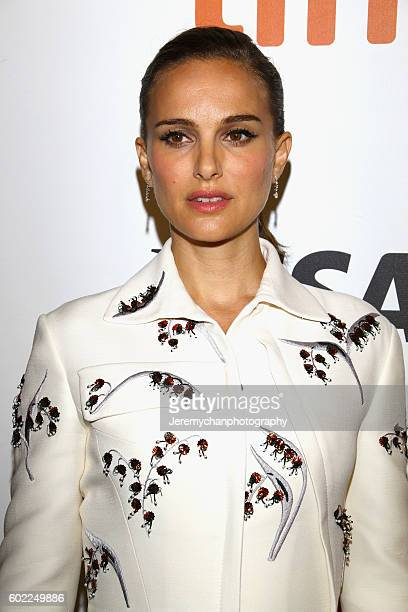 Actor Natalie Portman attends the Planetarium premiere held at Roy Thomson Hall during the Toronto International Film Festival on September 10 2016...