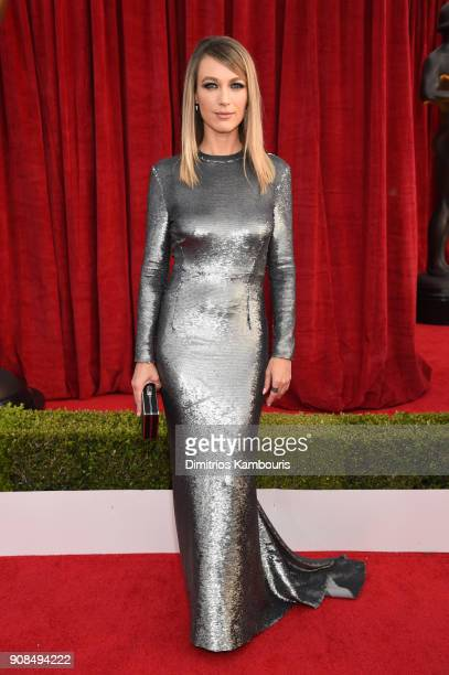 Actor Natalie Zea attends the 24th Annual Screen Actors Guild Awards at The Shrine Auditorium on January 21 2018 in Los Angeles California 27522_009