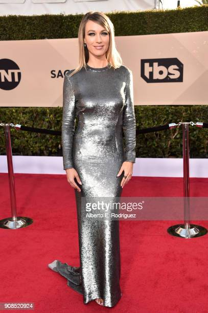 Actor Natalie Zea attends the 24th Annual Screen Actors Guild Awards at The Shrine Auditorium on January 21 2018 in Los Angeles California 27522_006