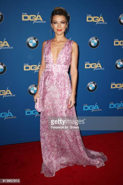 Actor Natalie Zea attends the 70th Annual Directors Guild Of America Awards at The Beverly Hilton Hotel on February 3 2018 in Beverly Hills California