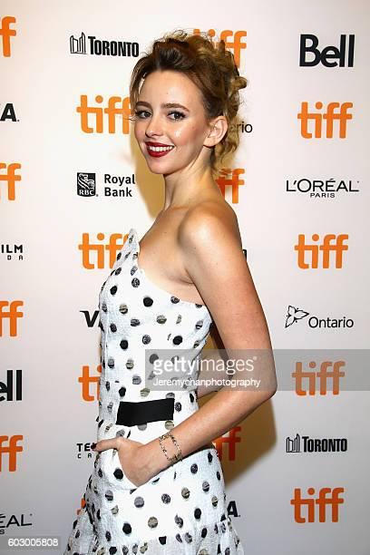 Actor Natasha Bassett attends the Katie Says Goodbye premiere held at TIFF Bell Lightbox during the Toronto International Film Festival on September...