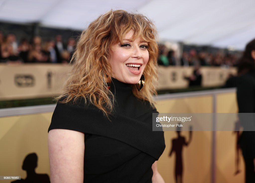 Actor Natasha Lyonne attends the 24th Annual Screen Actors Guild Awards at The Shrine Auditorium on January 21, 2018 in Los Angeles, California. 27522_010