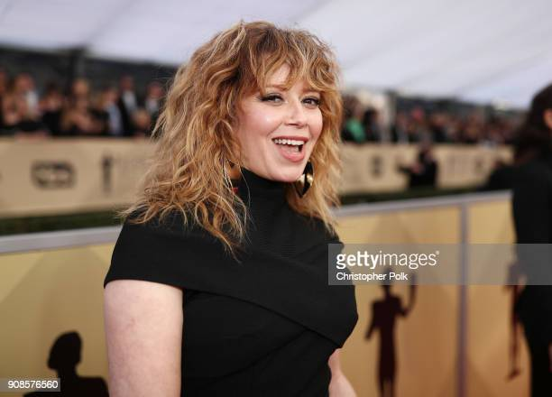 Actor Natasha Lyonne attends the 24th Annual Screen Actors Guild Awards at The Shrine Auditorium on January 21 2018 in Los Angeles California...