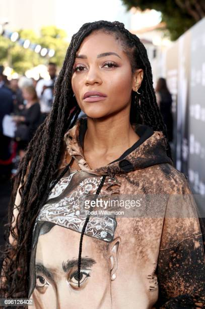 Actor Natasha Marc at the ALL EYEZ ON ME Premiere at Westwood Village Theatre on June 14 2017 in Westwood California