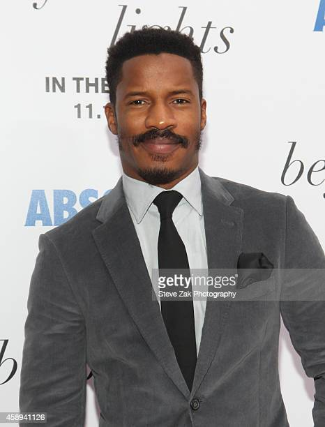 Actor Nate Parker attends Beyond The Lights New York Premiere at Regal Union Square on November 13 2014 in New York City
