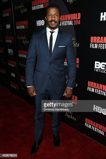 Actor Nate Parker attends BEYOND THE LIGHTS opening The Urbanworld Film Festival at SVA Theater on September 18, 2014 in New York City.