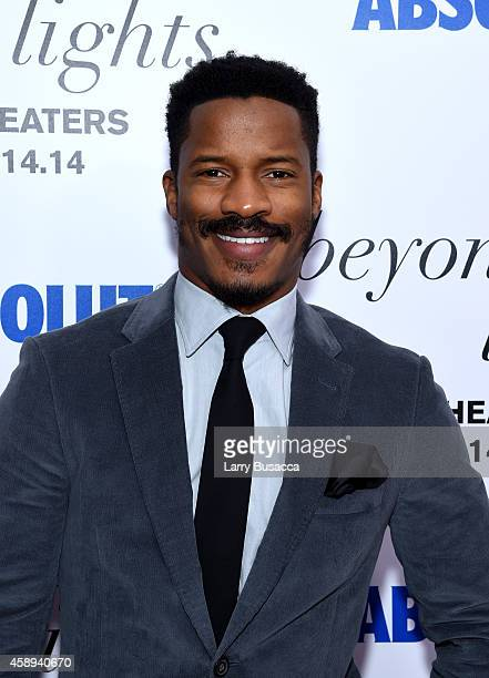 Actor Nate Parker attends The New York Premiere Of Relativity Media's Beyond the Lights at Regal Union Square Stadium on November 13 2014 in New York...